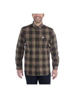 HUBBARD Carhartt Skjorte Grøn