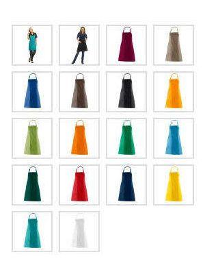 Forklæde med lomme 'valg i 12 farver'
