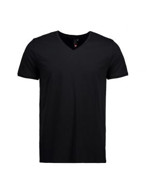 V-hals ID t-shirt i fitted unisex