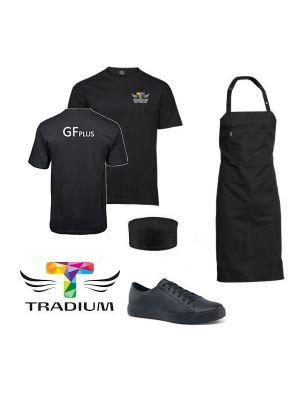 GF Plus Tradium - tøj til mad