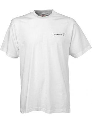 Hvid kvalitets T-shirt - med HANSENBERG logo