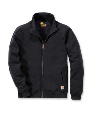 Carhartt Midweight Mock Neck Zip Front Sweatshirt - Sort