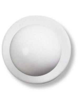 Hvide kokkeknapper 12 stk