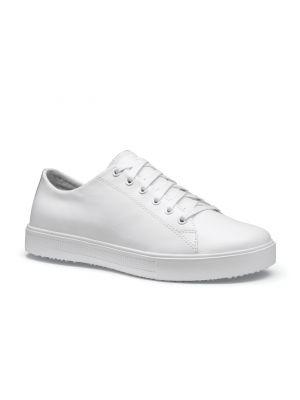 Hvid old school sko til køkken og ligne