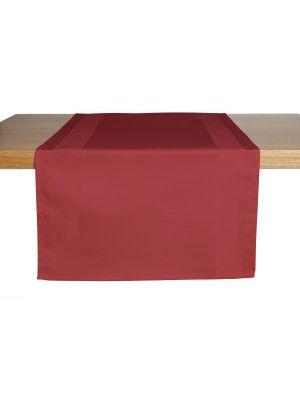 Bordeaux farvede bordløbere 2stk pk