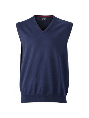 Herre pullover vest -Navy
