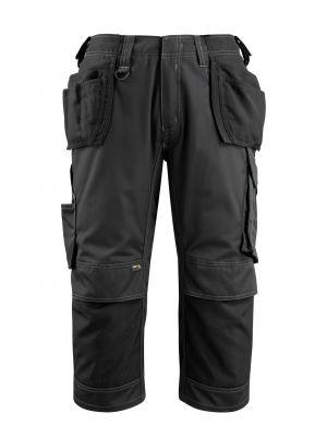 MASCOT® Lindau- Håndværker shorts m. hængelommer  Sorte