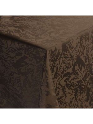 Elegant Marmor brun stofdug