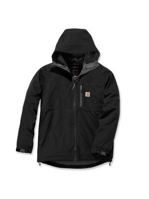 Carhartt Force Vandtæt jakke med hætte