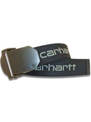Carhartt Logo bælte Sort