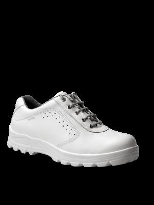 Hvid San Food S2 sko med tåværn og skridsikre