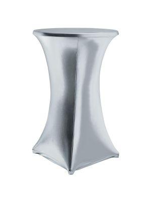 Stretch dugestof til bar borde - Sølv, 2 størrelser