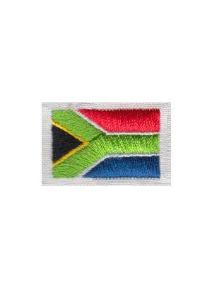 Brodering af Syd Afrika flag 2stk