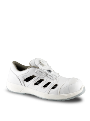 Hvid Tech O2 sikkerhedssandal sko med S-lock - ESD