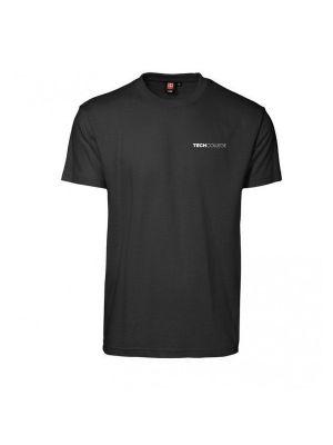 Sort Aalborg Tech college t-shirt