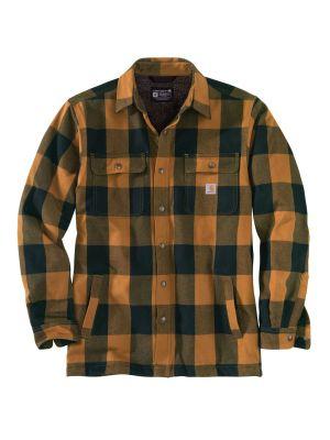 Carhartt Hubbard Shirt Jacket Brown