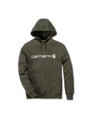 Carhartt Logo Hoodie Flere Farver