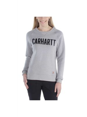Carhartt Dame Sweatshirts Grå