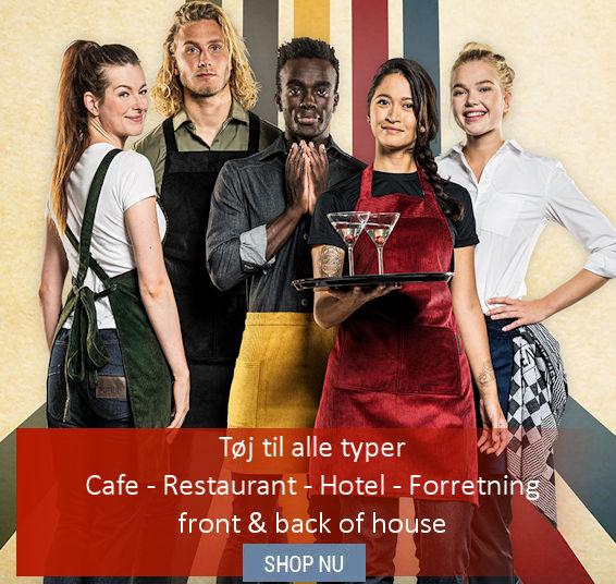 Uniformer og tøj til hotel & restaurationsbranchen